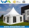 Tente extérieure de pagoda de PVC d'aluminium de 4X4m pour le mariage d'usager à vendre