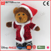 De gift vulde Dierlijke Zachte Pluche draagt het Stuk speelgoed van Kerstmis