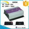 inversor solar Ys-600g-W-D del lazo de la red de las energías eólicas de la C.C. de 500With600W 46Hz-65Hz