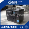 Gerador 5kw Diesel silencioso portátil de refrigeração ar com o painel de controle de Digitas