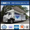 Carro de la carrocería del ala de Isuzu Qingling Vc46 6X4