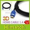 Nouveau câble HDMI 1.4 Gold Premium pour PS3 HDTV Résolution 1080p