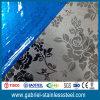 El panel de pared inoxidable de la placa de acero de la aguafuerte decorativa 304