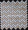 Mattonelle di mosaico di pietra di marmo (HSM100)