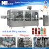 3 automáticos en 1 máquina de rellenar carbonatada de la bebida