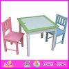 Hot nuevo producto para el año 2015 Mesa de comedor y una silla, mesa y silla de madera de la moda de alta calidad juego de mesa y silla de comedor W08G104