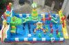 Città gonfiabile di Funland del campo da gioco per bambini di sport della tela incatramata del PVC gonfiabili esterni dei giochi (FC-060)