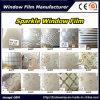 La película decorativa el 1.22m*50m de la ventana de cristal de la película de la ventana de la chispa 3D, más diseño elige