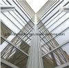 Открытые рамы с улучшенными Break наружной стены из стекла