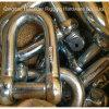 Deeのヨーロッパの大きい手錠、JISのタイプ手錠Dのタイプ電流を通される、E.電流を通されるE. Trawlingsのハックル