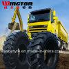 Pneumáticos industriais, pneumático contínuo, pneu contínuo do boi do patim (12-16.5)