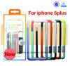 Gevallen van de Telefoon van de Cel PC+TPU van China de In het groot Goedkope Kleurrijke Zachte Waterdichte voor iPhone 6 6s Mobiele Dekking