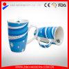 Venda por grosso de porcelana coloridas canecas Caneca Cerâmica personalizada