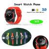 De ronde Telefoon van het Horloge van Bluetooth van het Scherm Slimme met Plons Waterdichte W8