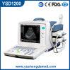 Matériel portatif approuvé d'ultrason d'OIN B/W de la CE (YSD1200)