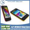 최신 4.0 인치 Mtk 6572 인조 인간 4.2 셀룰라 전화 (X2)