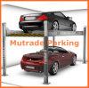 4つのポスト二レベルの地下油圧ピット車の駐車上昇