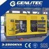 Звукоизоляционный генератор дизеля резервной силы 550kVA Cummins