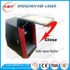máquina do laser de 20W 30W 50W para o metal que grava o frame Closed seguro