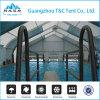Tienda dura de la cubierta de la piscina del policarbonato de la tapa de la azotea del shell para la venta