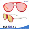 إيطاليا مزح تصميم باردة مزدوجة جسم رياضات نظّارات شمس مع يستقطب عدسة