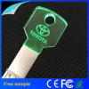 El clave ligero de moda del LED formó el mecanismo impulsor cristalino del flash del USB