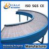 Línea transportador del acondicionamiento de los alimentos del fabricante de correa de la curva de PP/PVC banda transportadora de torneado de 90/180 grado