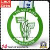 Überziehen der bunten grünen Sprot Medaille mit kundenspezifischer Größe