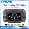 Carro DVD GPS para a classe W220 S280 S420 S430 do Benz S com câmera reversa