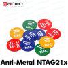 Etiquetas do em-Metal Ntag213/Ntag215/Ntag216 com logotipo de NFC