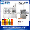 Máquina de rellenar de la pequeña del animal doméstico de la botella de fruta bebida automática del zumo