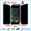 Протектор экрана Tempered стекла уединения Анти--Шпионки на iPhone 7 добавочное