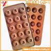 Moulage fait sur commande de chocolat de silicones de Ketchenware de qualité (YB-HR-123)