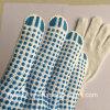 Китай питания защитные перчатки ПВХ пунктирной хлопка гильзы Защитные перчатки