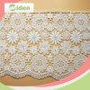 꽃 디자인 면 자수 분홍색에 있는 인도 Guipure 레이스