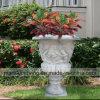 手によって切り分けられる品質の庭の大理石プランター