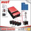 Carregador solar puro MPPT do inversor da onda de seno 1kw-12kw da obrigação