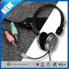 هتاف استحسان [3.5مّ] مجساميّة سمّاعة رأس سماعة مع [ميك] ميكروفون