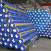Оптовая торговля двухсторонний водонепроницаемый синего цвета PE тент ткань