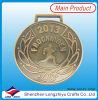 Antieke Goud van de Medaille van de Medaille van de Herinnering van sporten het Lopende