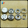 Metal Brass Four Parts Prong Type Snap Button pour chemise