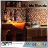Medaillon-Marmorsteinmosaik-dekorative Fliesen