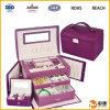 Caja cosmética de cuero profesional de la PU (SP-DC012)