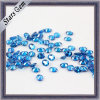 Forma de óvalo de color diferentes zirconia cúbico de piedras preciosas sintéticas