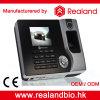 Máquina biométrica del sistema de la atención del programa de lectura de huella digital de Realand