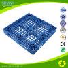 Pallet di plastica pesante Cross-Section del Singolo-Lato blu di colore