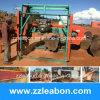 アンゴラの使用のディーゼル機関のHorizonal木製バンド製材所