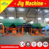 Máquina aluvial del Jigger del oro, separador de la plantilla del mineral de Maganese