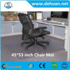 45 door 53-duim Cleated Chair Mat voor Low en Medium Pile Carpet, Clear