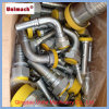 Yellow/White Zinc Plated Metric/NPT/Bsp Hydraulic Fitting/Adapter